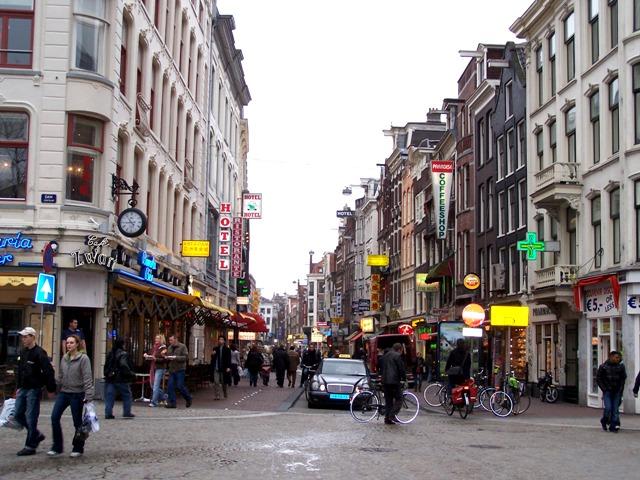 Амстердам център