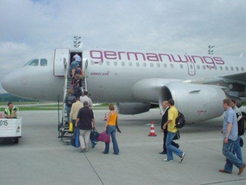 GermanWings - Немска нискотарифна авиокомпания germanwings