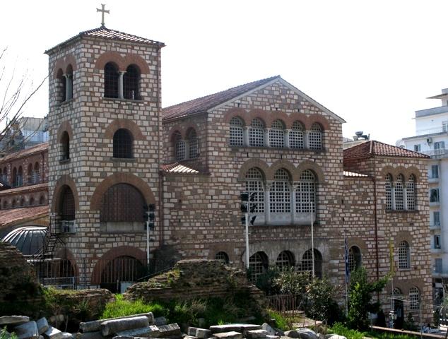 църква Свети Димитър, Солун