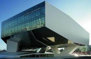 Музея на Порше в Щутгарт