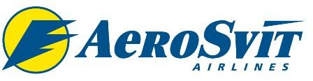 Авиокомпании Aerosvit Airline logo
