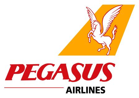 Авиокомпании pegasus logo